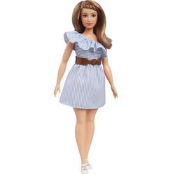 Barbie Fashionistas N°76 robe rayée