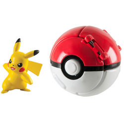 Pokemon-Super Ball Pikachu