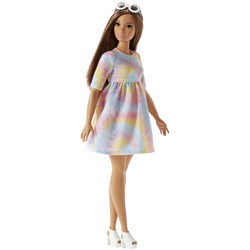 Barbie Fashionistas N°77 robe colorée