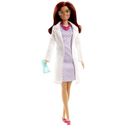 Barbie métiers scientifique