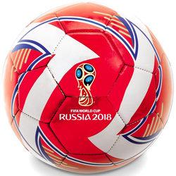 Ballon de foot Coupe du Monde Fifa 2018 rouge