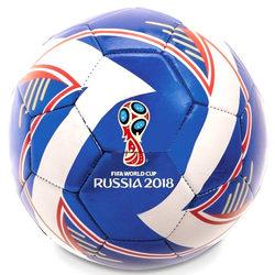 Ballon de foot Coupe du Monde Fifa 2018 bleu
