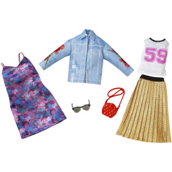 Barbie-Coffret de 2 tenues N°6