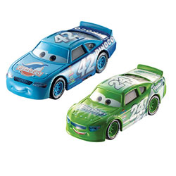 Cars - Pack 2 véhicules Brick Yardley Cal Weather