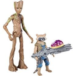 Avengers Infinity War-Figurines Rocket Raccoon et Groot