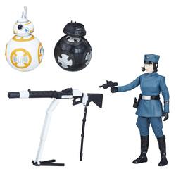 Star Wars-Figurines Rose BB8 et BB9