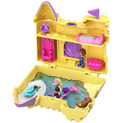 Polly Pocket-Coffret univers le château de sable