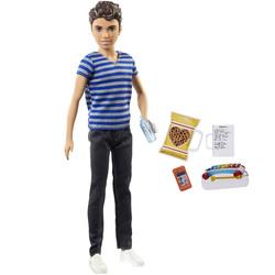 Barbie-Poupée babysitter avec Chips