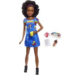 Barbie-Poupée babyssitter avec café