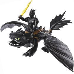 Dragon 3-Dragon Krokmou et figurine de Harold