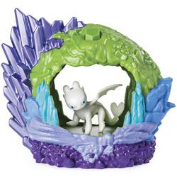 Dragon 3-Pack tanière avec un dragon Furie éclair