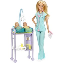 Barbie-Coffret pédiatre