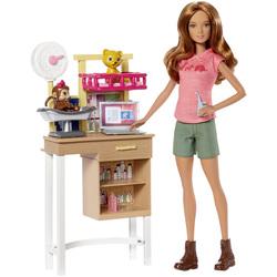 Barbie-Coffret vétérinaire de zoo