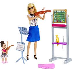 Barbie-Coffret professeur de musique