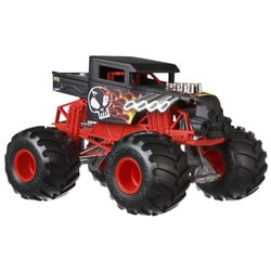 Hot Wheels-Monster Trucks Bone Shaker rouge 1/24 ème