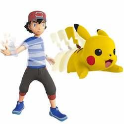 Pokémon-Figurine à fonctions Pikachu 12 cm