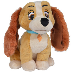 Disney-La Belle et le Clochard-Peluche Belle 25 cm