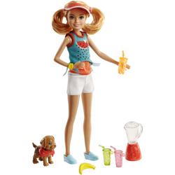 Barbie-Coffret Stacie et son chiot