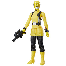 Power Rangers Beast Morphers-Figurine jaune 30 cm