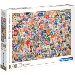Puzzle 1000 pièces timbres