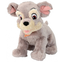 Disney-La Belle et le Clochard-Peluche Clochard 25 cm