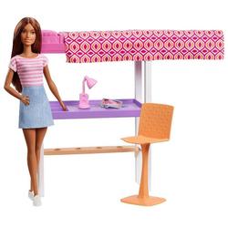 Barbie-Poupée avec mobilier chambre