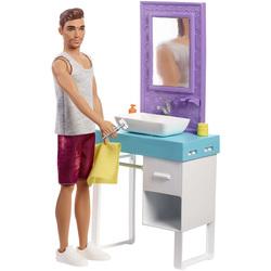 Barbie - Poupée Ken avec salle de bain