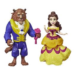 Mini-poupées Belle et la Bête 8 cm - Disney Princesses