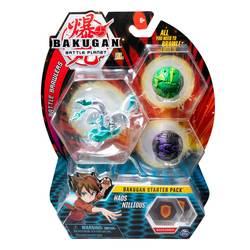 Bakugan Battle Planet starter pack Haos Nillious