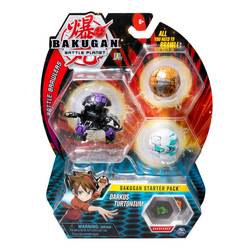 Bakugan Battle Planet starter pack Darkus Turtonium