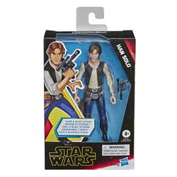 Figurine Han Solo 12 cm avec accessoire Star Wars 9
