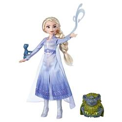 Poupée Elsa Pabbie et Salamandre La Reine des Neiges 2