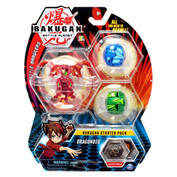 Bakugan Battle Planet starter pack Dragonoid