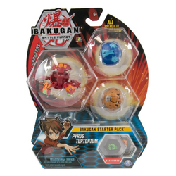 Bakugan Battle Planet starter pack Pyrus Turtonium
