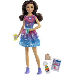 Barbie - Poupée Babysitter robe étoilée
