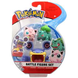 Figurines Pokémon Ramboum Rondoudou et bulbizarre