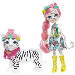 Enchantimals - Balade au zoo Tadley le tigre et poupée Kitty