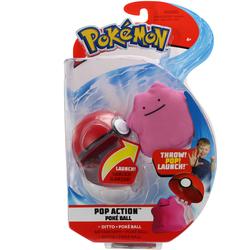Lanceur et peluche Metamorph Pokémon