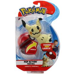 Lanceur et peluche Mimiqui Pokémon
