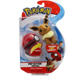 Lanceur et peluche Evoli Pokémon