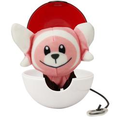 Lanceur et peluche  Pokémon Nounourson