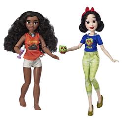 Poupées Vaiana et Blanche-Neige fashion - Comfy Squad - Disney Princesses