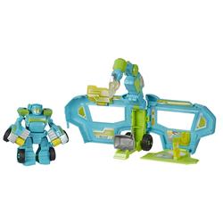 Figurine Centre de commandement Hoist - Transformers Rescue Bot Academy