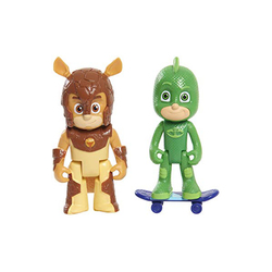 Coffret 2 figurines Gluglu et Armadylan Pyjamasques