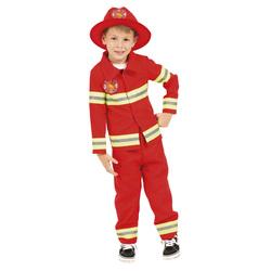 Costume de pompier 6/8 ans