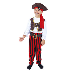 Déguisement de pirate 4/6 ans