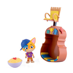 Playset deluxe figurine Éclair 44 Chats