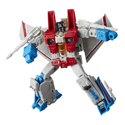 Figurine Robot Voyageur Starscream 18 cm - Transformers Earthrise