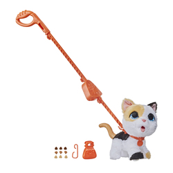 Peluche interactive chaton qui fait popo - Furreal Friends