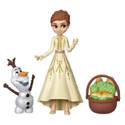 Mini poupée Anna avec amis - La Reine des Neiges 2